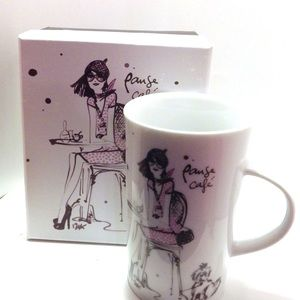 NEW, Limited Mug in matching gift box, Pause Cafe